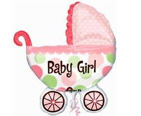 Воздушные шары на рождение девочки