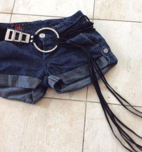 Шорт джинсовые