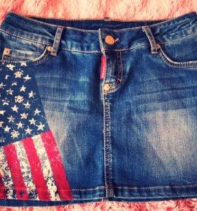 Новая джинсовая юбочка