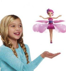 Кукла летающая фея новая