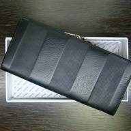 Fendi кошелек женский длинный чёрный