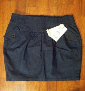 Новая джинсовая юбка от Gloria Jeans, 40-42 размер
