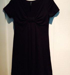 Платье трикотажное размер S