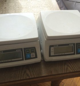 Весы электронные 2 кг, CAS SW-2