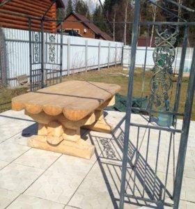 Мебель рубленая из бревна