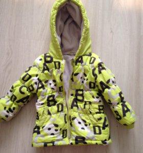 Детская курточка весна -осень