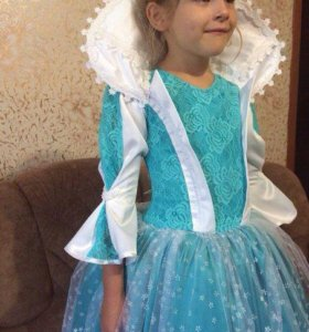 """Платье """"снежная королева"""""""
