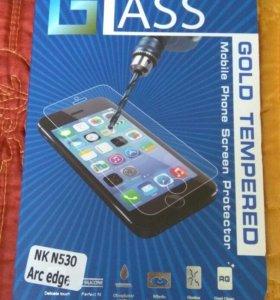 Nokia 530 стекло защитное, закаленое бронестекло