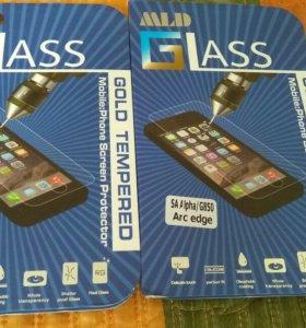 Samsung Galaxy Alpha Стекло защитное, закаленое