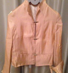 Пиджак из органзы женский