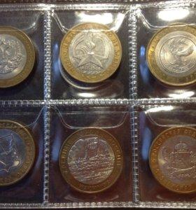 Монеты 60штук