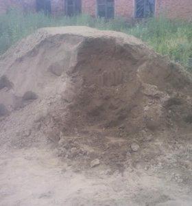 Песок строительный чистый от мешка до 2 тонн
