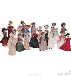 Дамы эпози. Моя колекция кукол. 60 Кукол + Журналы