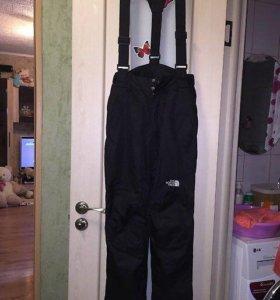 Лыжные штаны на флисе 42-44р