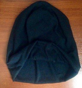 Трикотажная шапка-чулок