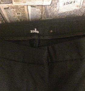 👖 Zolla брюки, классические, черные штаны.