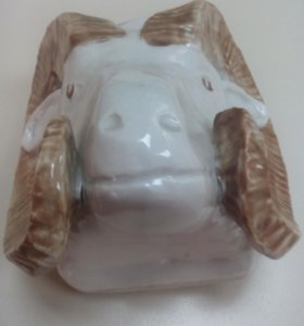 Карандашница Голова Барана.