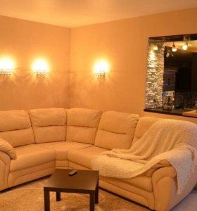 Кожаный угловой диван Бристоль
