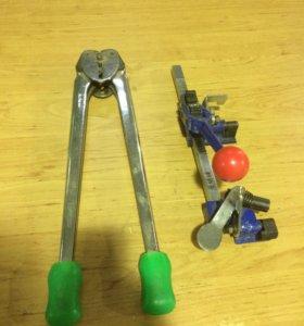 Инструмент для скрепления паллет, ручной