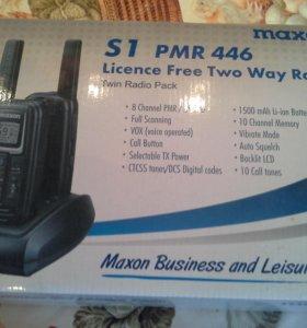 Рация Maxon S1 PMR 446