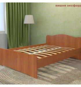 Кровать двуспальная 140х200см
