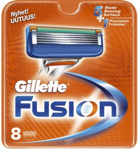 Gillette Fusion 8 кассет
