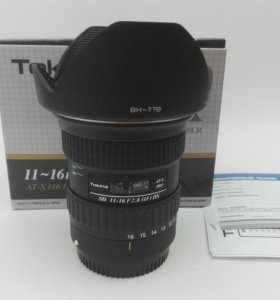 Tokina AT-X 116 F2.8 PRO DX 11-16mm for Canon