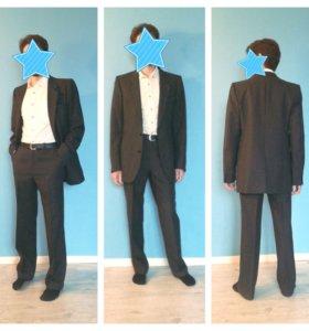 Мужской костюм 46 размер (М)