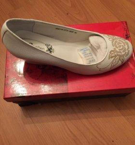 Туфли женские натуральная кожа, 38 размер