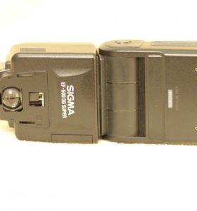 Вспышка Sigma EF-500 DG SUPER