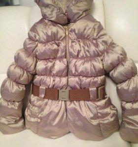 Тёплая куртка Catimini 5-7 лет