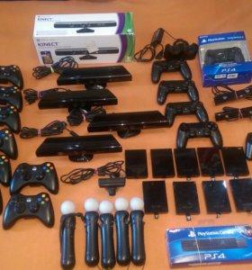 Аксессуары для Xbox 360 PlayStation 3 4