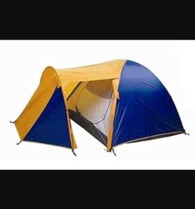 Продам палатку 3-4 местная с тамбуром новая в упак