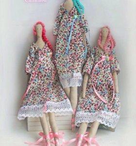 Итерьерные куклы Тильды