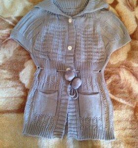Детская вязанная кофточка на 4-5 годика
