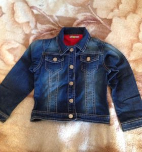 Джинсовая курточка на 4-5 лет
