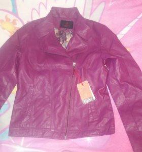 Новая Куртка женская экокожа 46-48