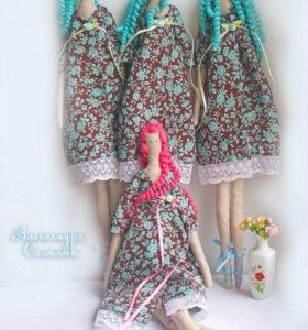 Интерьерные куклы Тильда