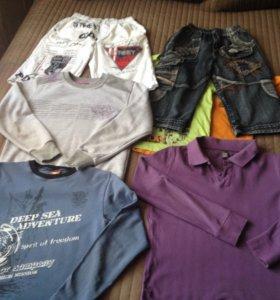 Вещи на подростка 10-14 лет