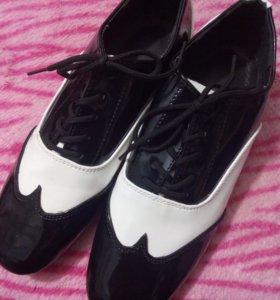 Туфли танцевальные. Б\у в отличном состоянии.