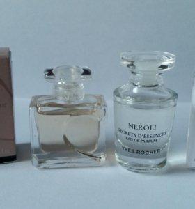 Neroli и Quelques d'Amour Yves Rocher+ подарок