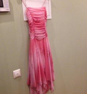 Вечернее Платье розовое Ynes