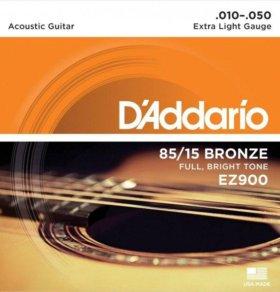 Струны для акустики D'Addario ez900 (10-50)