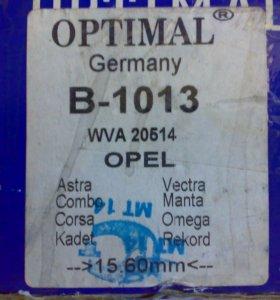 Колодки тормозные Opel