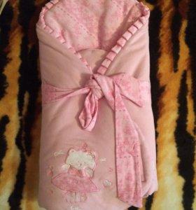 Детское одеяло (конверт)