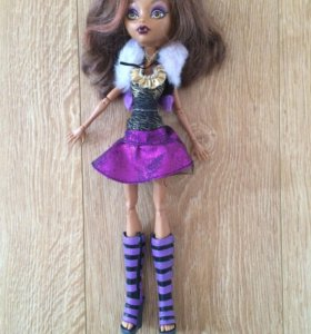 Кукла монстр хай 🌸 Кладин Вульф