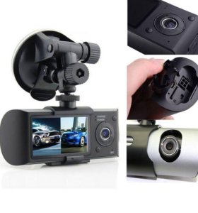 Видеорегистратор DVR-R300 (2 камеры)