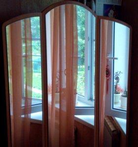 Трильяж шкаф с зеркалами