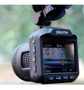 Видеорегистратор с антирадаром Playme P400
