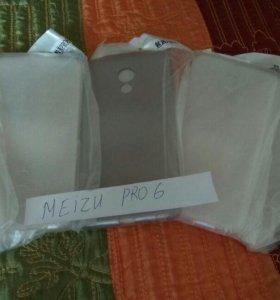 Meizu Pro 6 чехол - накладка силиконовый